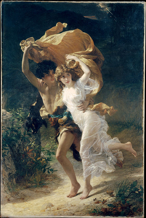 pierre auguste cot   the storm